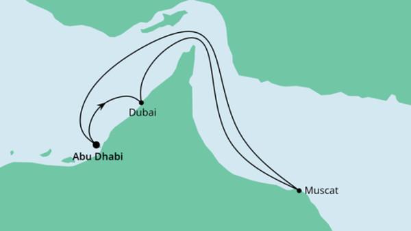 Orient ab Abu Dhabi