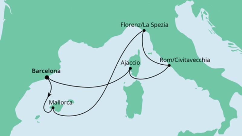 Mediterrane Schätze ab Barcelona