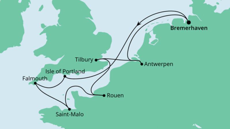 Frankreich, Belgien & Großbritannien 2