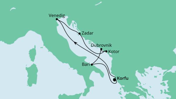 Adria ab Korfu