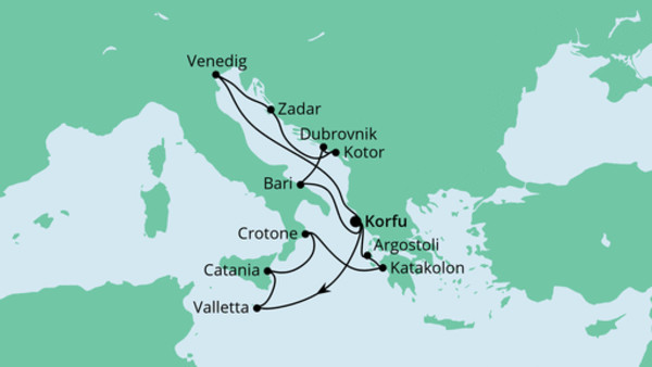 Adria & Mittelmeerinseln