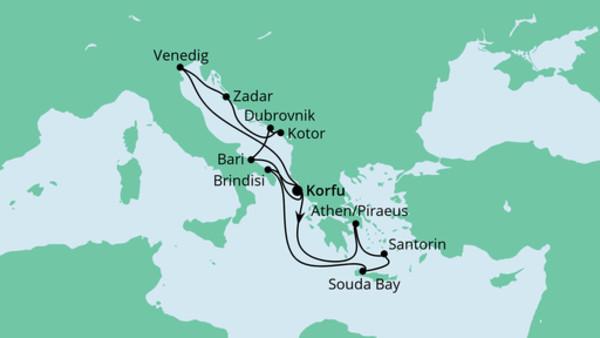 Adria & Griechenland