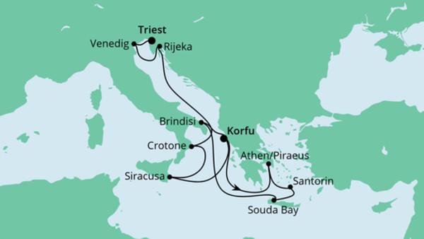 Von Korfu nach Triest 2