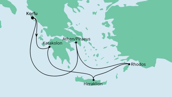 Griechenland ab Korfu 2