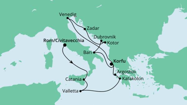Von Rom nach Korfu 2