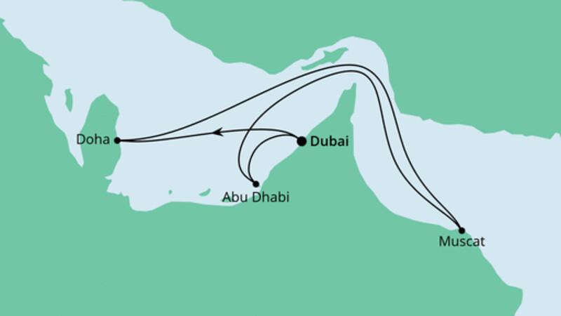 Orient ab Dubai