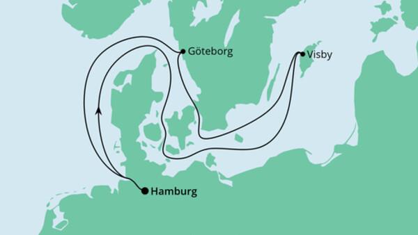 Ahoi Tour ab Hamburg nach Schweden