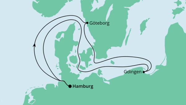Ahoi Tour ab Hamburg nach Schweden und Polen