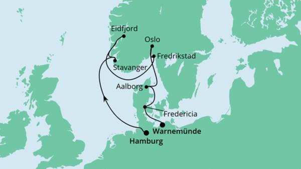 Südnorwegens Küste