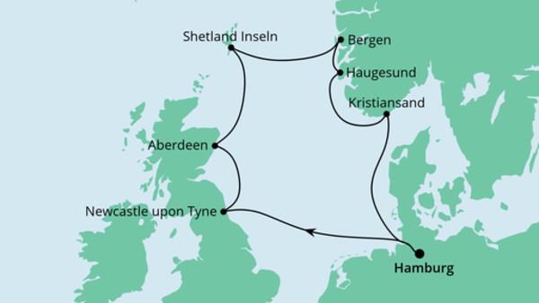 Großbritannien & Norwegen