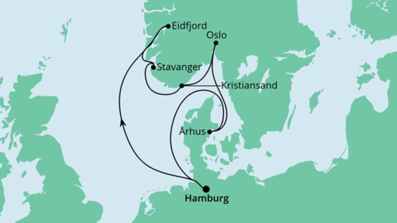 Norwegens Küste & Dänemark
