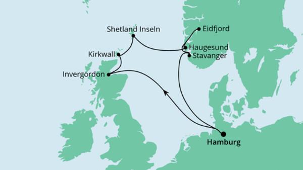 Nordische Inseln mit Norwegen 2