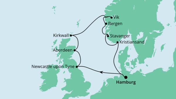 England, Schottland & Norwegen