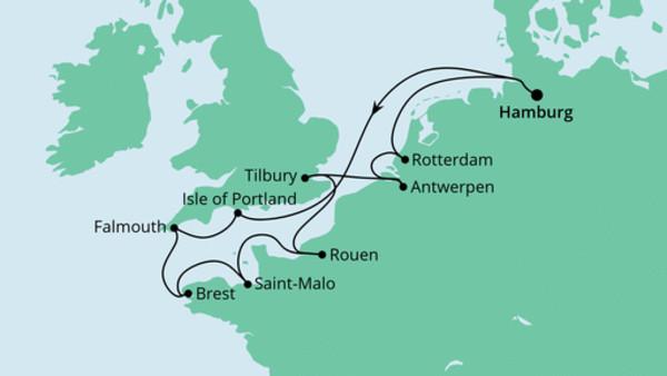 Frankreich, Belgien & Großbritannien 1