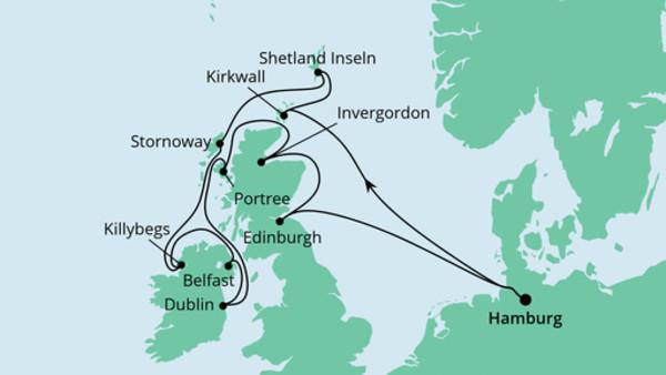 Schottische Inseln & Irland