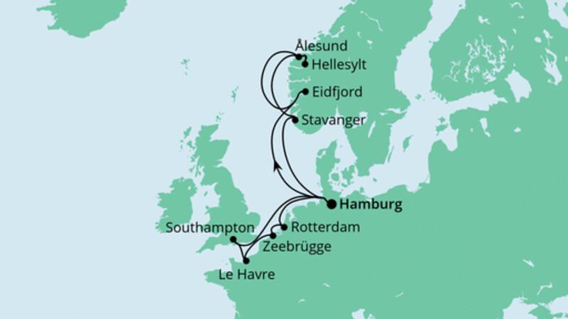 Metropolen & Norwegen