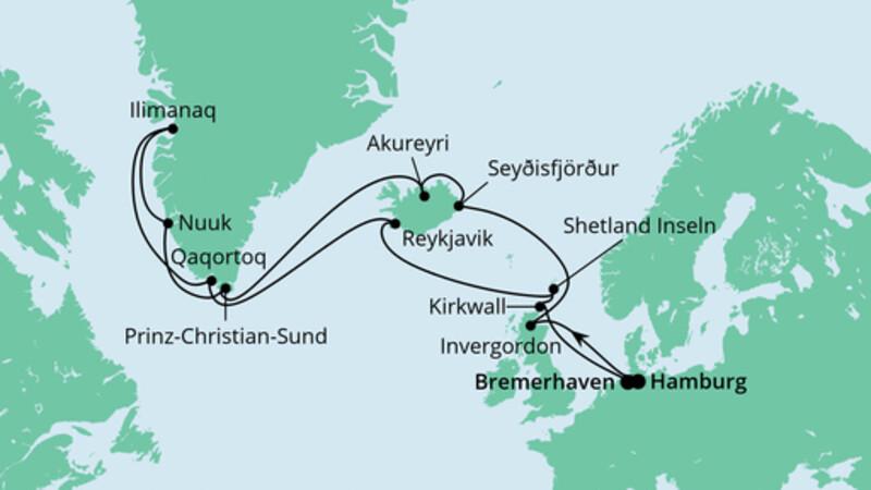 Island & Grönland 1