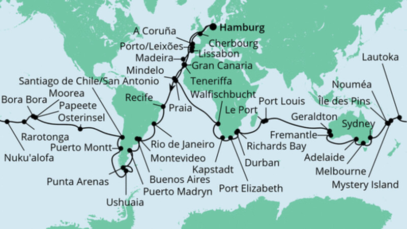 Weltreise 2022