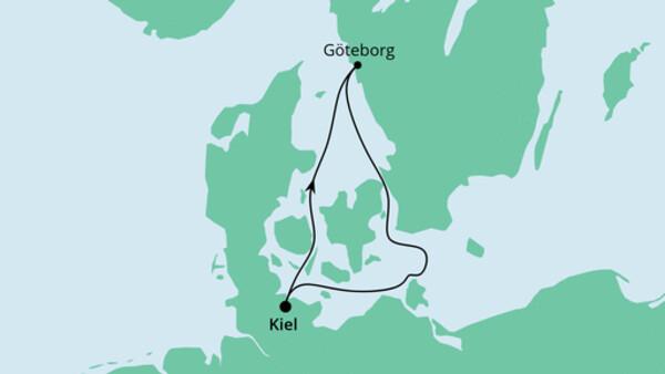 Ahoi Tour ab Kiel mit Göteborg