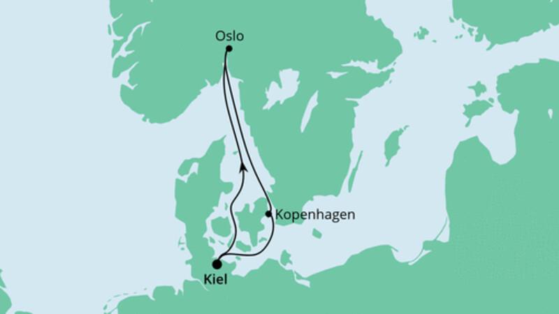 Kurzreise nach Norwegen & Dänemark