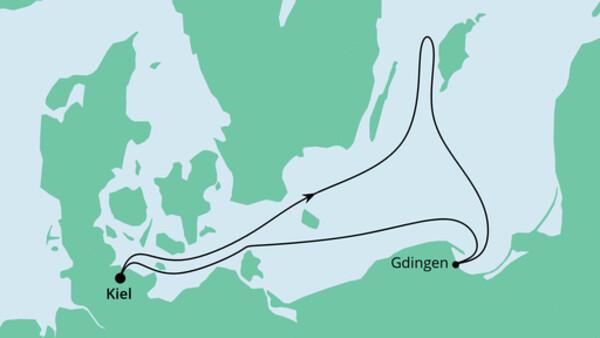 Ahoi Tour ab Kiel mit Danzig
