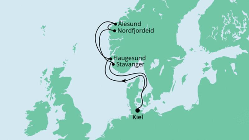 Norwegen ab Kiel 2