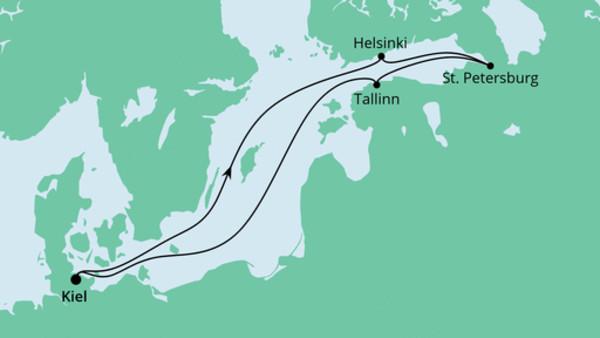 Ostsee ab Kiel