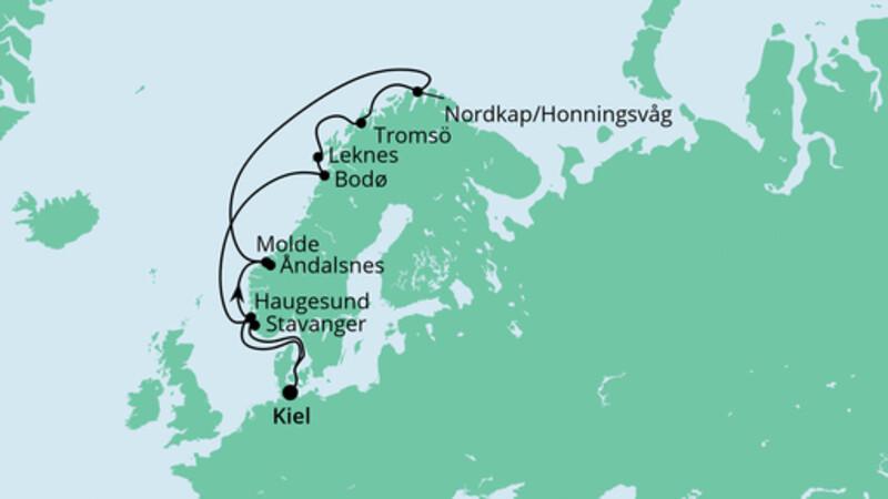 Norwegen mit Lofoten & Nordkap