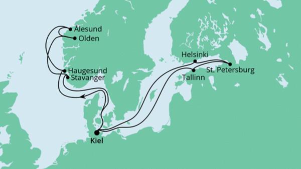 Norwegen & Ostsee 2