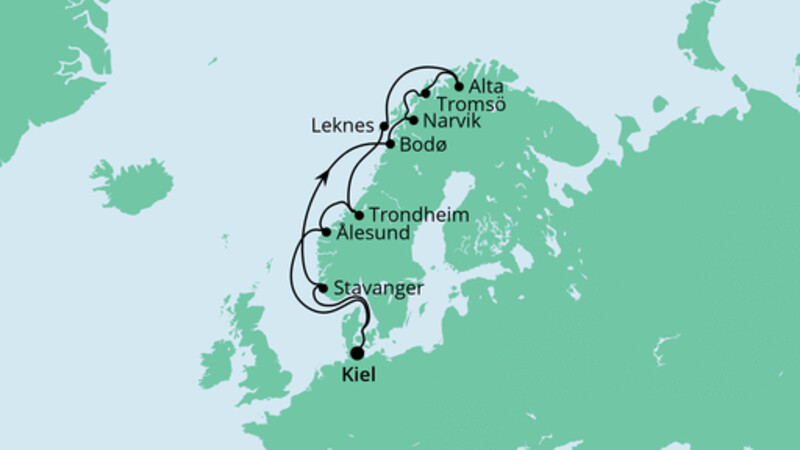 Herbstliche Nordlichter ab Kiel