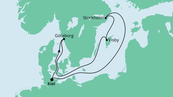 Große Ahoi Tour ab Kiel
