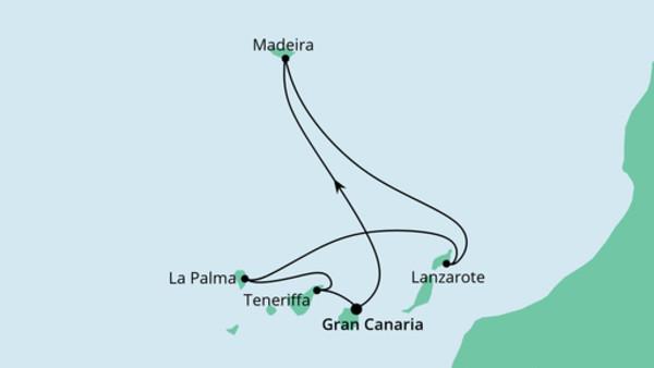 Kanaren & Madeira mit La Palma
