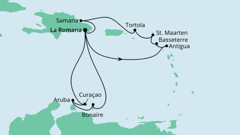 Karibik & Kleine Antillen 1