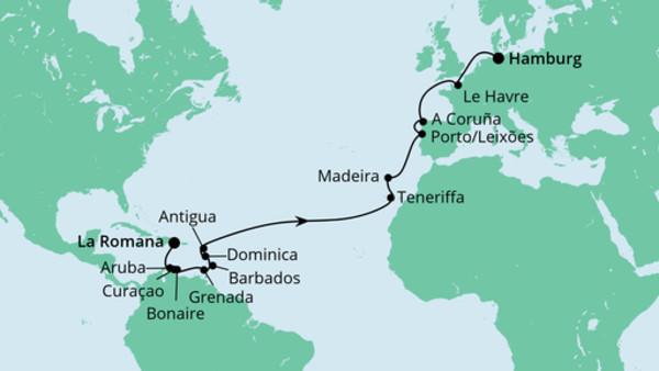 Von der Dominikanischen Republik nach Hamburg 3