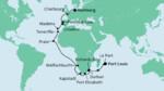 Von Mauritius nach Hamburg 1