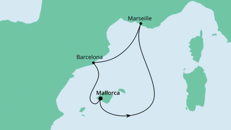 Kurzreise Spanien & Frankreich