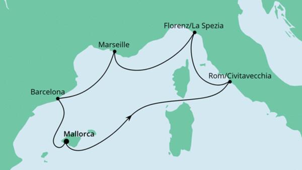 Perlen am Mittelmeer ab Mallorca