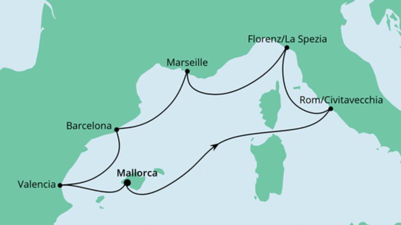 Perlen am Mittelmeer