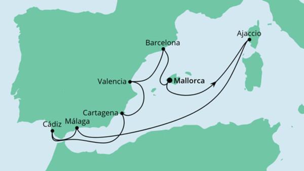 Spanien & Korsika