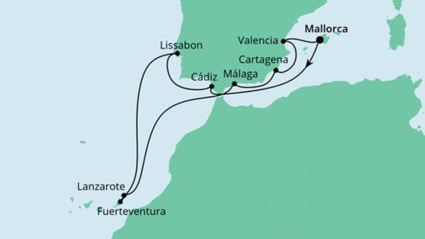 Spanien, Portugal & Kanaren 1