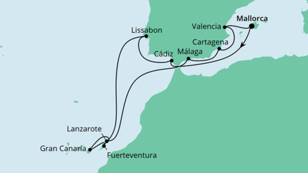 Spanien, Portugal & Kanaren 2
