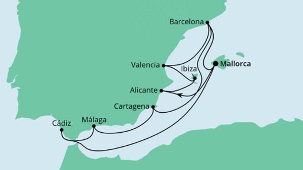 Große Spanien-Reise 2