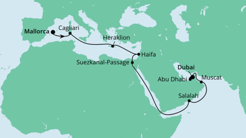 Von Mallorca nach Dubai 1