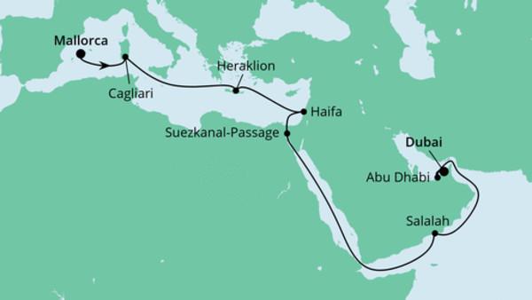 Von Mallorca nach Dubai 4