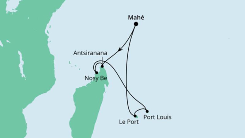 Mauritius, Seychellen & Madagaskar 2