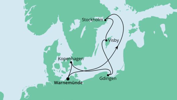 Schweden, Polen & Dänemark
