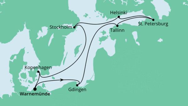 Ostsee ab Warnemünde 2