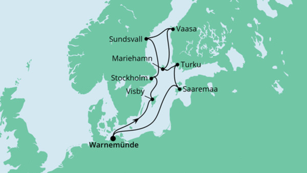 Schärengärten der Ostsee mit Hansesail 1