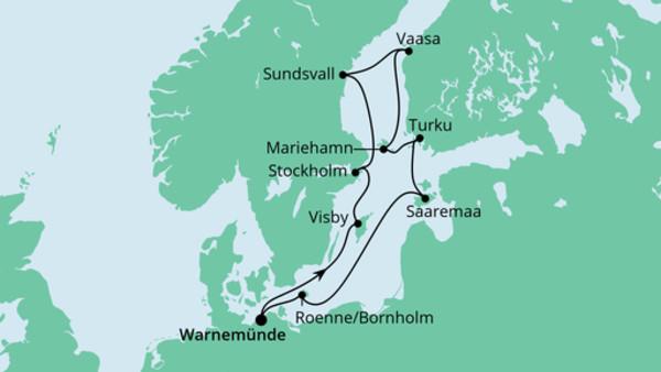 Schärengärten der Ostsee mit Hansesail 2